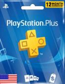 PlayStation Plus 12 Months Membership (US)